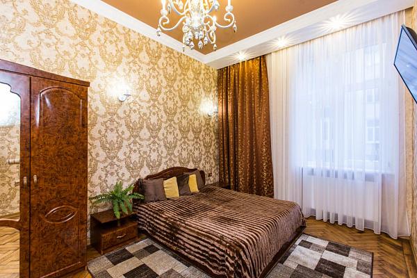 Двухкомнатная квартирапосуточно в Львове. Галицкий район, ул. Дудаева, 17. Фото 1