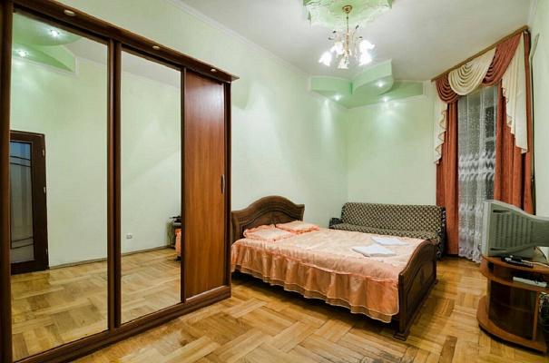 Однокомнатная квартирапосуточно в Львове, Железнодорожный район, ул. Городецкая, 60. Фото 1