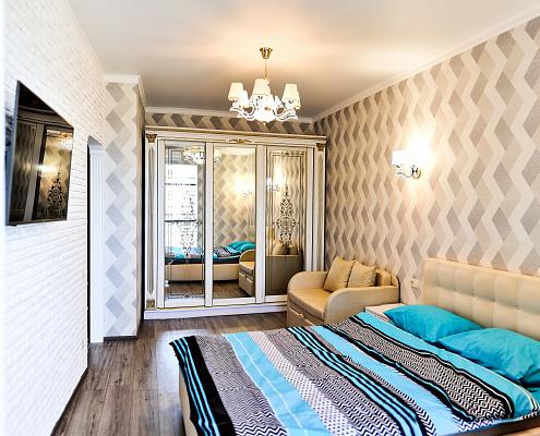 Однокомнатная квартирапосуточно в Одессе. ул. Генуэзская, 3-А. Фото 1