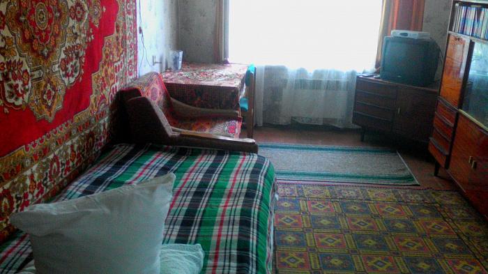 Двухкомнатная квартирапосуточно в Сергеевке. ул. Гагарина, 7. Фото 1
