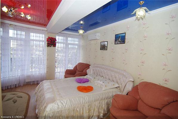 Однокомнатная квартирапосуточно в Алуште, Саранчева, 27. Фото 1
