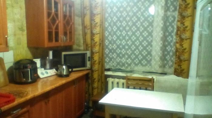Однокомнатная квартирапосуточно в Святогорске, ул. И.Мазепы (Островского), 58
