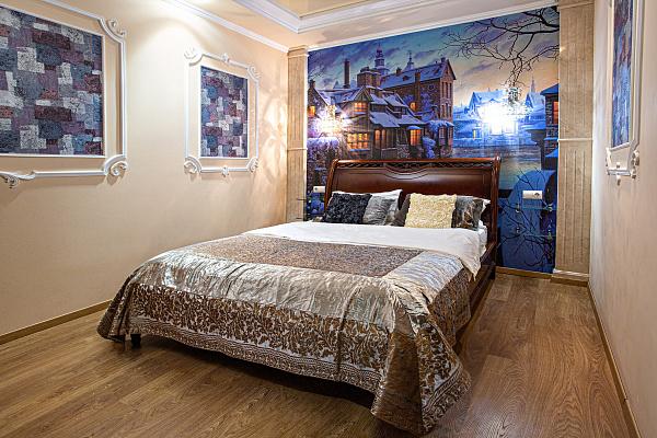 Двухкомнатная квартирапосуточно в Львове, Лычаковский район, ул. Ивана Франко, 23. Фото 1