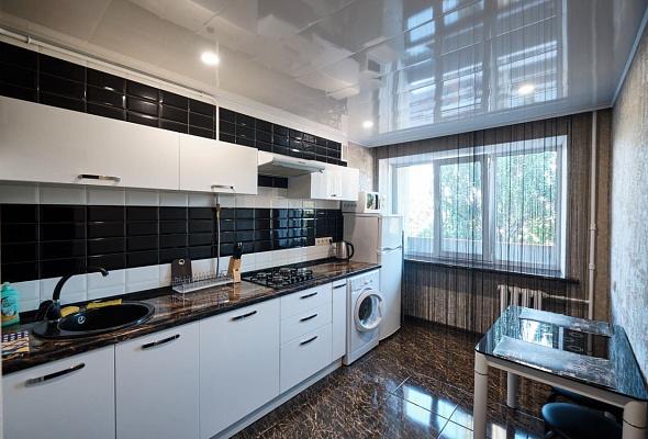 Однокомнатная квартирапосуточно в Мариуполе, Центральный район, пр-т Строителей, 98. Фото 1