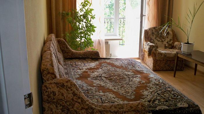 Однокомнатная квартирапосуточно в Бердянске. Лиепайская, 14. Фото 1