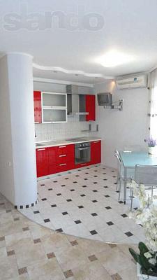 3-комнатная квартира посуточно в Днепре. Индустриальный район, ул. Щербины, 4. Фото 1