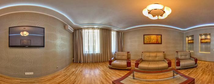 Двухкомнатная квартирапосуточно в Харькове. Киевский район, ул. Артема, 5. Фото 1