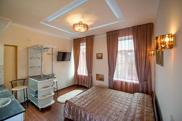 Однокомнатная квартирапосуточно в Львове, ул. Городоцкая, 131. Фото 1