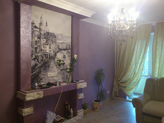 Двухкомнатная квартирапосуточно в Кировограде (Кропивницком), Ленинский район, дворцовая65. Фото 1