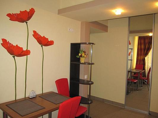 Однокомнатная квартирапосуточно в Львове. Галицкий район, пр-т Свободы, 41. Фото 1
