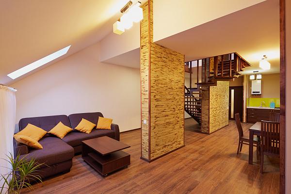 Двухкомнатная квартирапосуточно в Львове. Лычаковский район, ул. Личаковская, 6. Фото 1