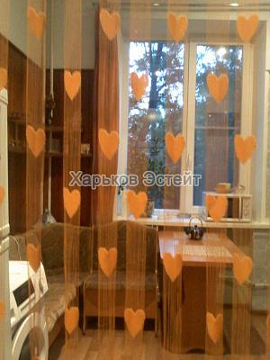 Двухкомнатная квартирапосуточно в Харькове. Киевский район, пушкинская, 48. Фото 1