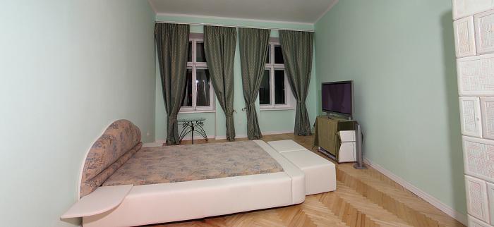 Двухкомнатная квартирапосуточно в Львове. Галицкий район, ул. Драгоманова, 13. Фото 1