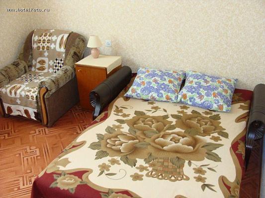 Однокомнатная квартирапосуточно в Евпатории. ул. Заводская, 40. Фото 1