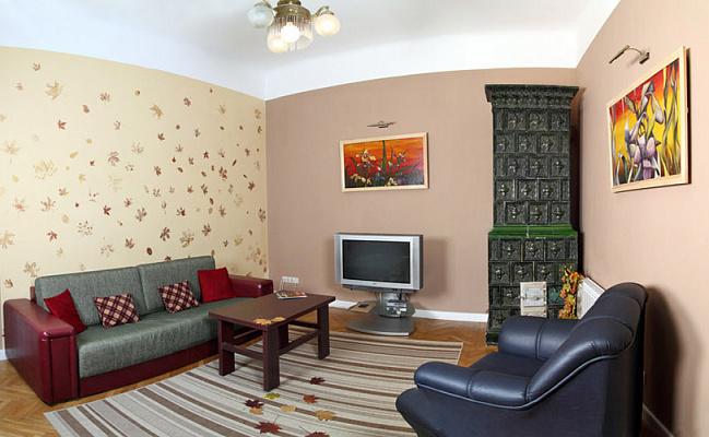 Двухкомнатная квартирапосуточно в Львове. Галицкий район, ул. Ноябрьского Чина, 3. Фото 1
