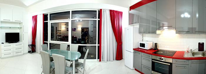 Однокомнатная квартирапосуточно в Севастополе, Нахимовский район, ул. Клокачова, 16