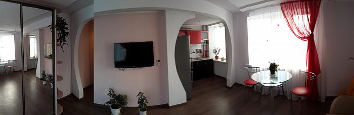 Однокомнатная квартирапосуточно в Керчи, ул. Советская, 9