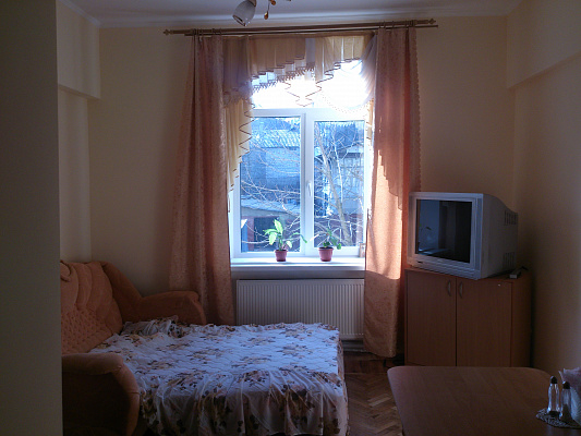 1-комнатная квартира посуточно в Харькове. Ленинский район, ул. Рылеева, 42/44. Фото 1