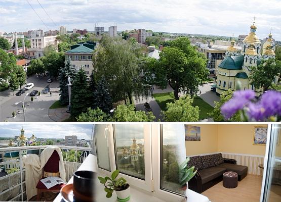 Трехкомнатная квартирапосуточно в Ровно. б-р Майдан Независимости, 1. Фото 1