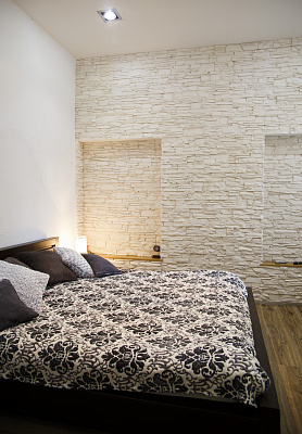 1-комнатная квартира посуточно в Львове. Лычаковский район, ул. Ивана Франко, 15. Фото 1