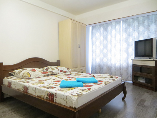 Однокомнатная квартирапосуточно в Киеве, Оболонский район, пр-т Оболонский, 43. Фото 1
