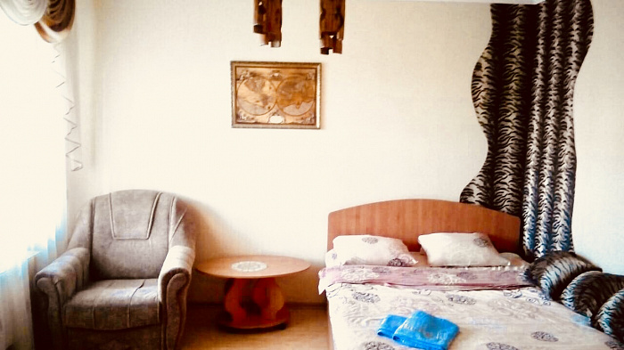 Однокомнатная квартирапосуточно в Сумах. Заречный район, ул. Воскресенская, 13Б. Фото 1