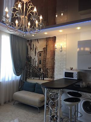 1-комнатная квартира посуточно в Одессе. Приморский район, ул. Среднефонтанская, 19б. Фото 1