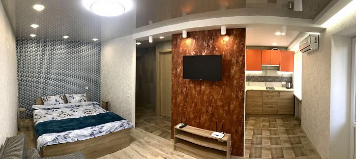 Однокомнатная квартирапосуточно в Мариуполе, Центральный район, б-р Хмельницкого, 31