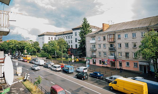 Однокомнатная квартирапосуточно в Тернополе, ул. Русская, 3