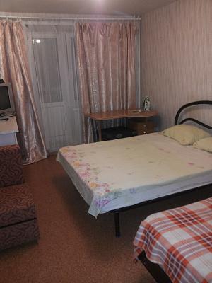 Двухкомнатная квартирапосуточно в Вишнёвом, ул. Балукова, 3. Фото 1