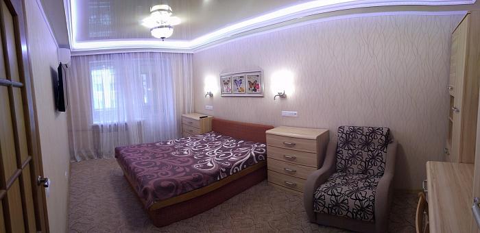 Однокомнатная квартирапосуточно в Славянске, ул. Королёва, 27. Фото 1