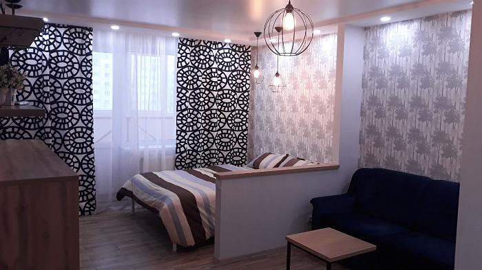 1-комнатная квартира посуточно в Сумах. Заречный район, пр-т Лушпы, 5. Фото 1