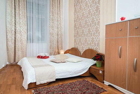 Однокомнатная квартирапосуточно в Львове. Галицкий район, ул. Черноморская, 3. Фото 1