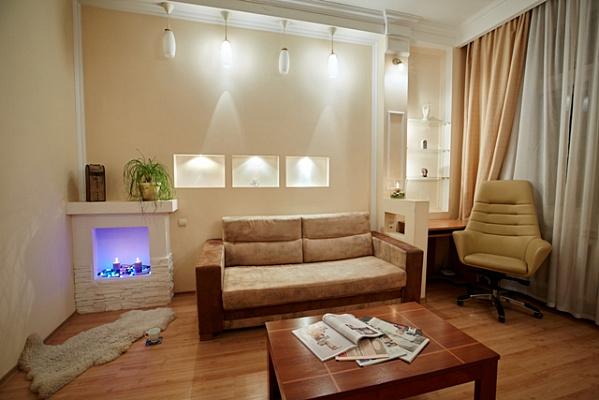 Однокомнатная квартирапосуточно в Ровно. ул. Симона Петлюри, 25. Фото 1