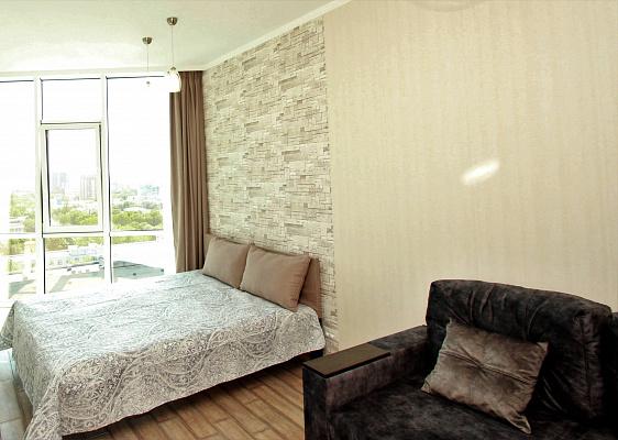 Однокомнатная квартирапосуточно в Одессе, Приморский район, Итальянский бульвар, 3. Фото 1