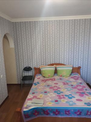 Однокомнатная квартирапосуточно в Голой Пристани, ул. Пушкина, 2. Фото 1
